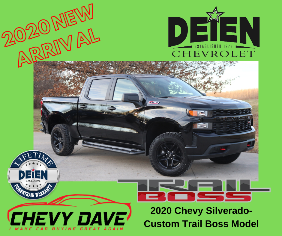 New 2020 Alert 2020 Silverado Custom Trail Boss Model Just Hit