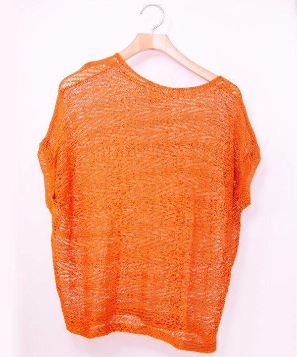 オレンジカットソー  #シータ・ミュー