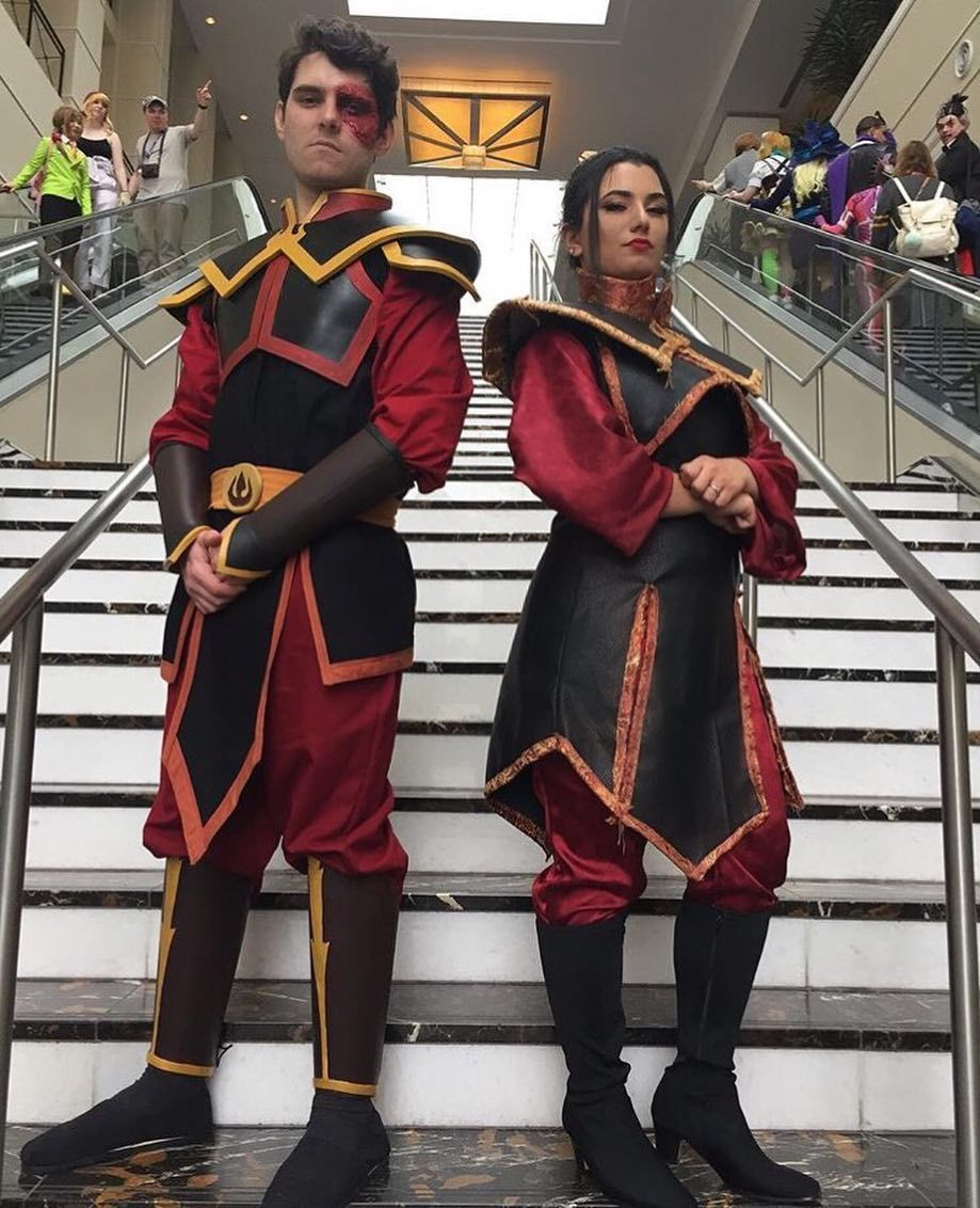 Zuko and Azula!! Cosplay by Pedrorayz and Princess Jasmine ...