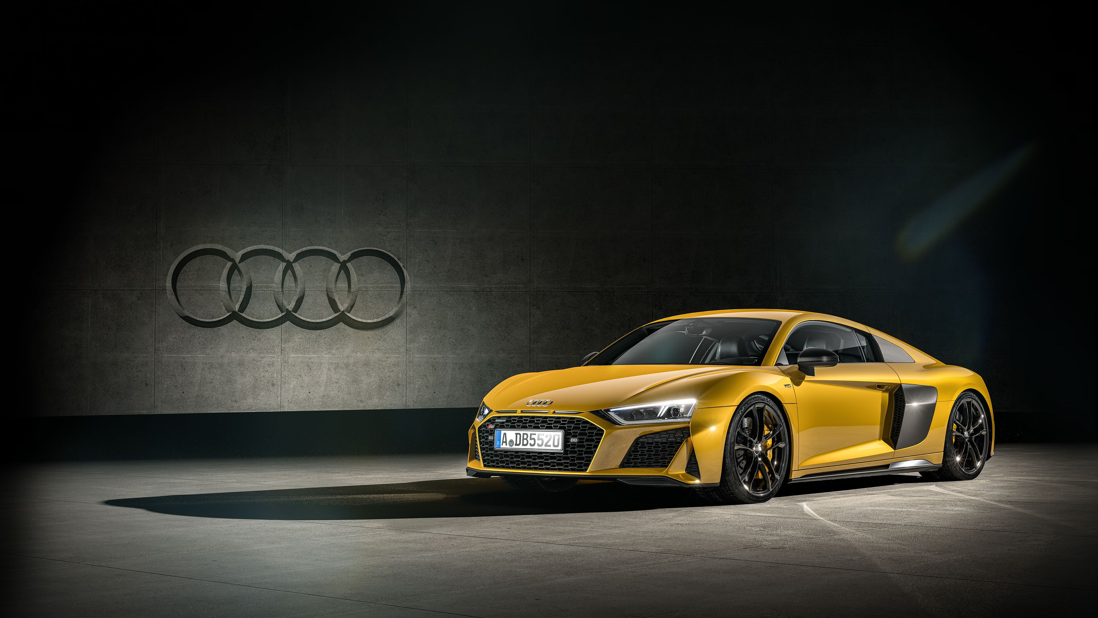 Audi R8 Yellow 4k Audi R8 Yellow 4k Wallpapers Audi Audi R8 Automotive Design