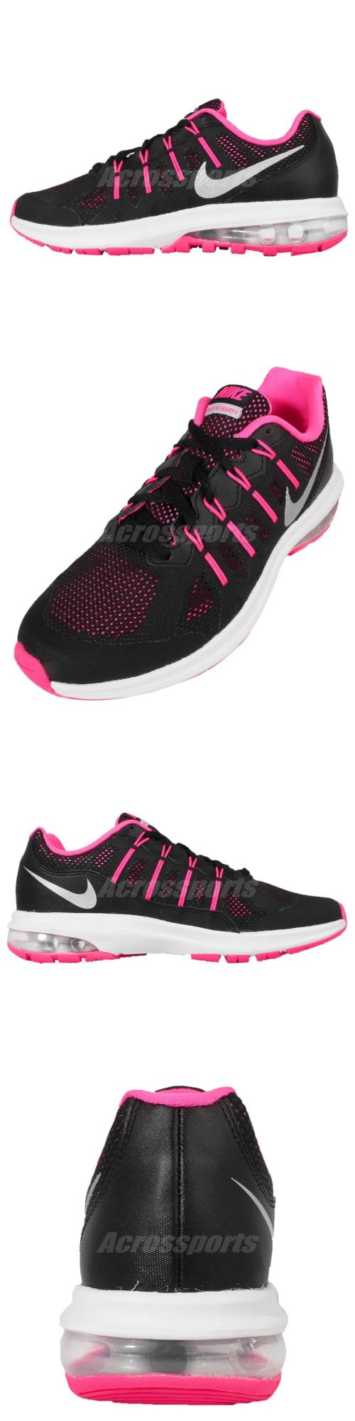 21de933de1f55 Youth 158954  N I K E Air Max Dynasty Gs Black Pink Kids Youth Running Shoes  Nwob 820270
