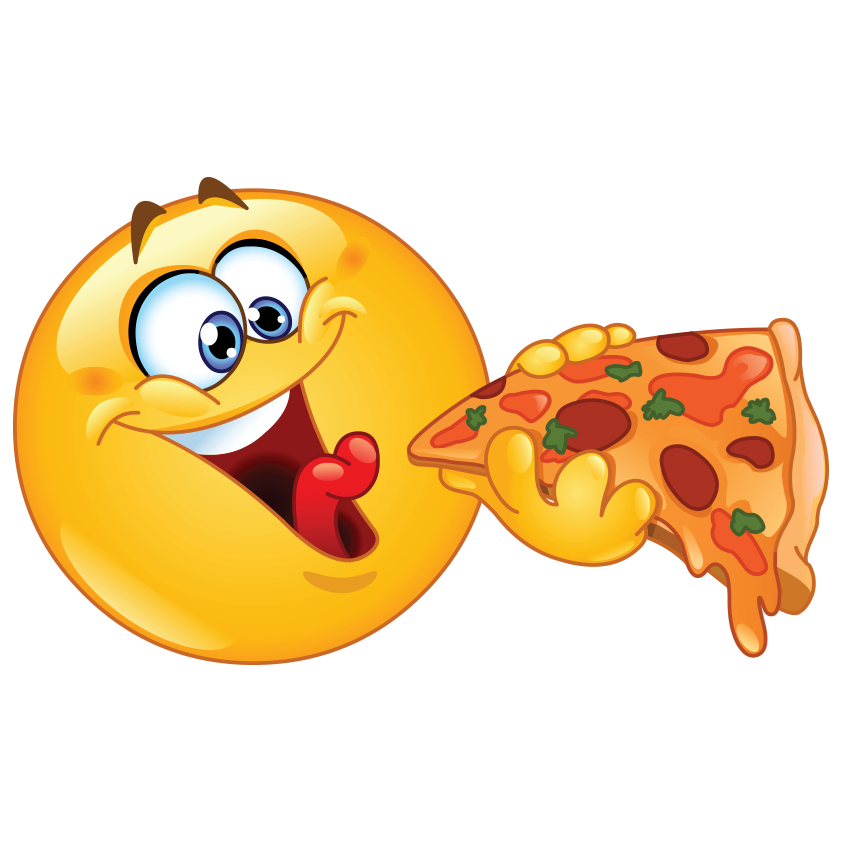 Smiley Face And Pizza Cartoon S D Classy Wallpaper Toys