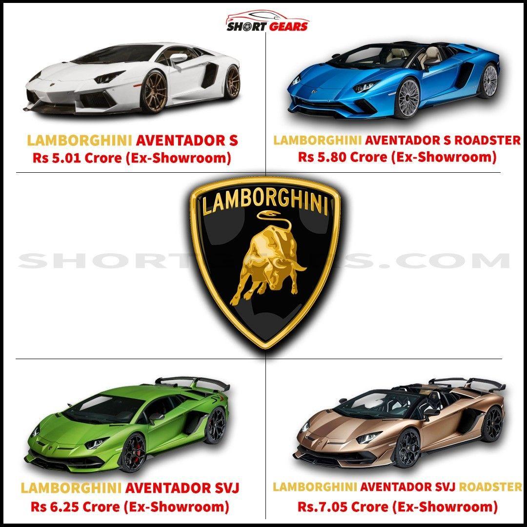 Lamborghini Aventador Series Which Is Your Favorite Lambo Prices Can Be Vary Lamborghini Lamborghiniaventador In 2020 Lamborghini Aventador Super Cars Lambo