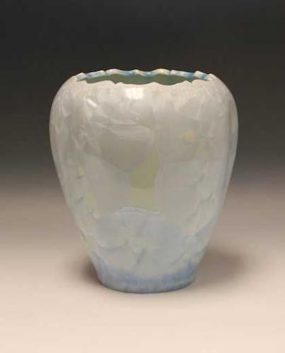 Pale Blue Open Vase By Duly Mitchell Duly Mitchell Pinterest