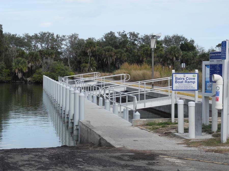 Merritt Island Bairs Cove Ramp Merritt Island Florida Merritt Island National Wildlife Refuge