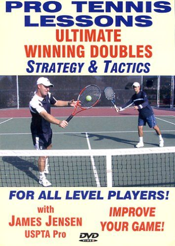 Santas Tools and Toys Workshop: DVD: Pro Tennis Lessons - Ultimate Doubles: Winning Strategy and Tactics for Men & Women!