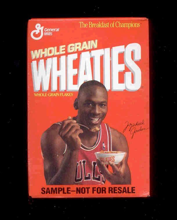U Better Eat Your Wheaties Spaghetti Stuff Michael Jordan