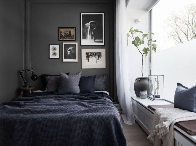 Top 10 Decorating Ideas For A Small Dark Bedroom Top 10 Decorating Ideas For A Small Dark Bedroom Schlafzimmer Einrichten Skandinavisches Schlafzimmer Zimmer Small bedroom ideas dark