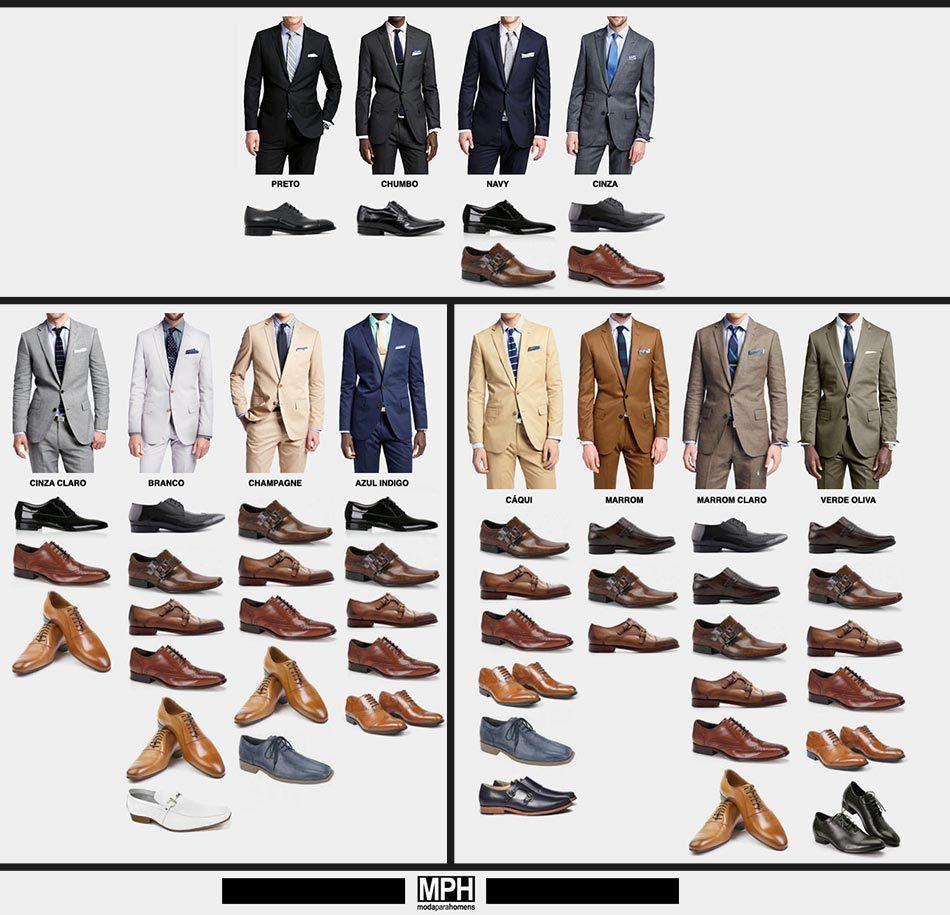 Ponerte un traje automáticamente no te hace ser elegante ¿Sabes combinar el traje y los zapatos?