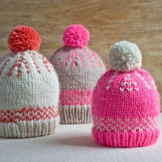 Keep your knitting skills from getting rusty by making your own pom pom  beanie for the winter with this tutorial. 3d6cc638610