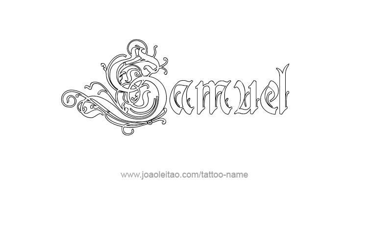 Samuel Prophet Name Tattoo Designs Page 4 Of 5 Tattoos With Names Name Tattoos Name Tattoo Designs Name Tattoo