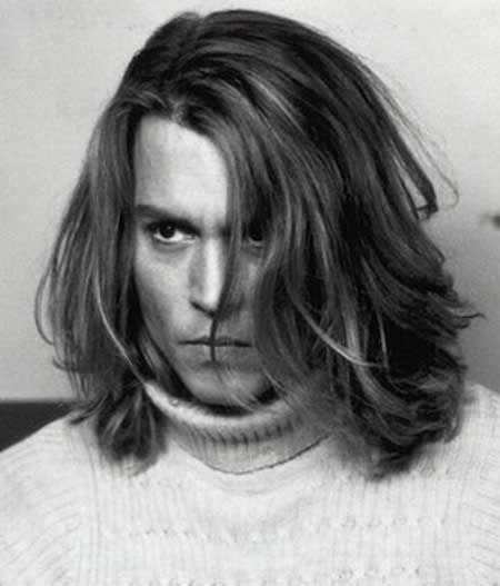 Pin By Javen Bawden On Makin A Livin Long Hair Styles Johnny Depp Long Hair Long Hair Styles Men
