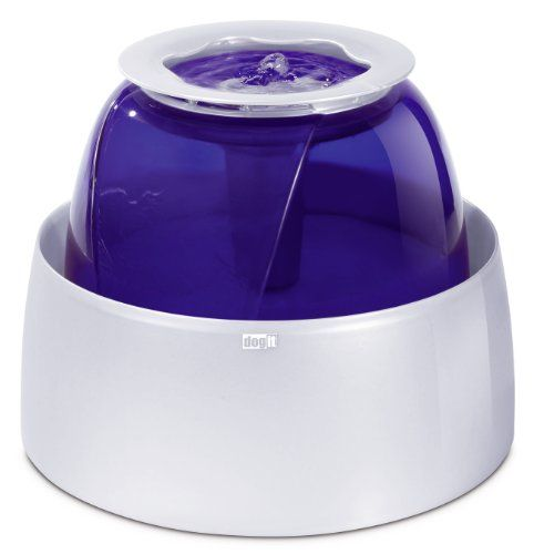 """$56  Approx 14"""" diameter Dogit Fresh & Clear Drinking Fountain for Large Dogs Dogit,http://www.amazon.com/dp/B000O3APMQ/ref=cm_sw_r_pi_dp_m6VJsb1BYSMPCHDG"""