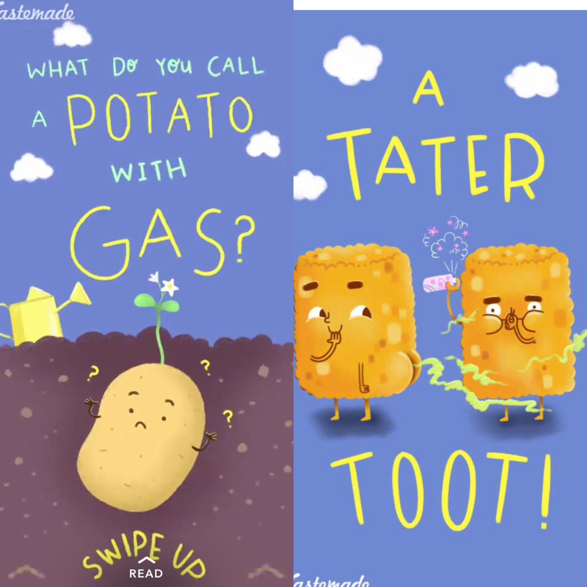 Potato Joke Cute Jokes Funny Jokes For Kids Punny Jokes