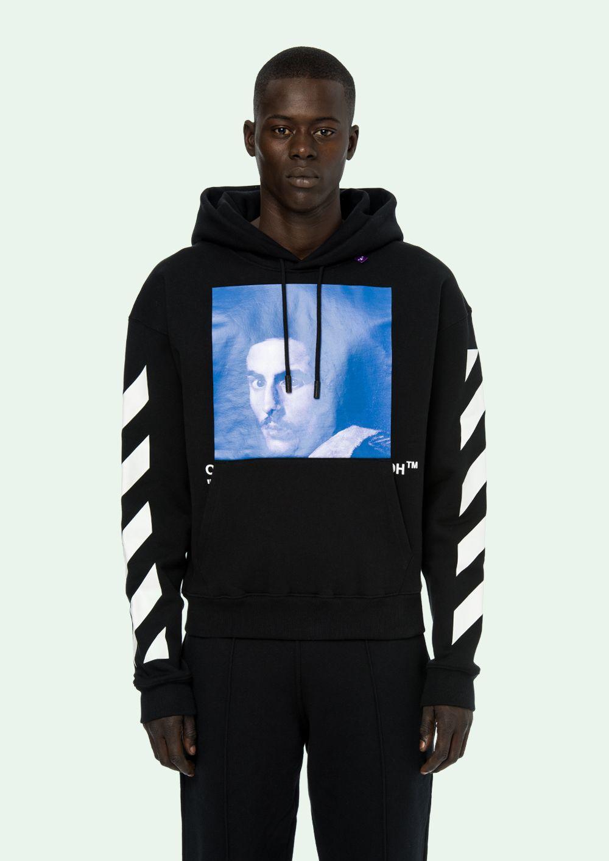 Off White Hooded Sweatshirt Offwhite Off White Hoodie Men Off White Hoodie White Hooded Sweatshirt [ 1413 x 1000 Pixel ]