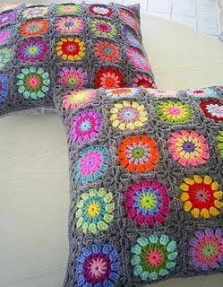 Cushion love the colours