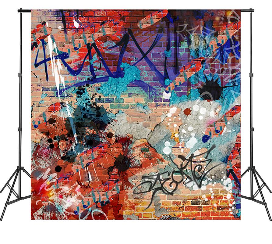 Life Magic Box Graffiti Backdrops Backgrounds For Photography Vinyl