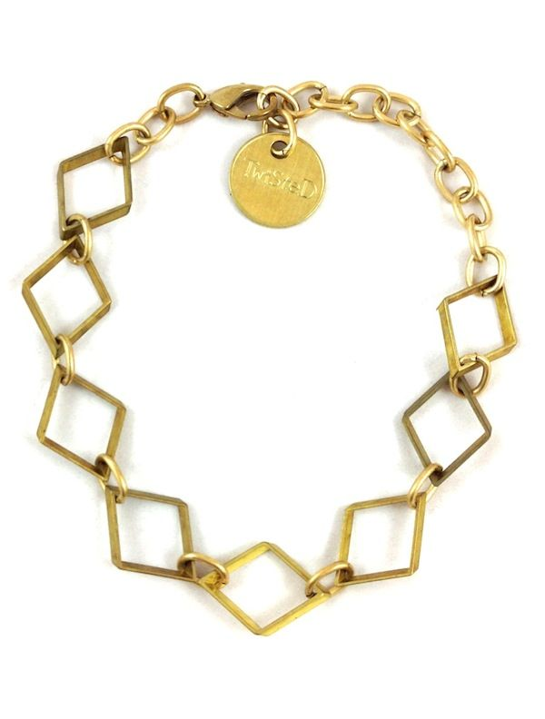 Trendy Jewelry Twisted Silver Celebrity Jewelry Funky Jewelry