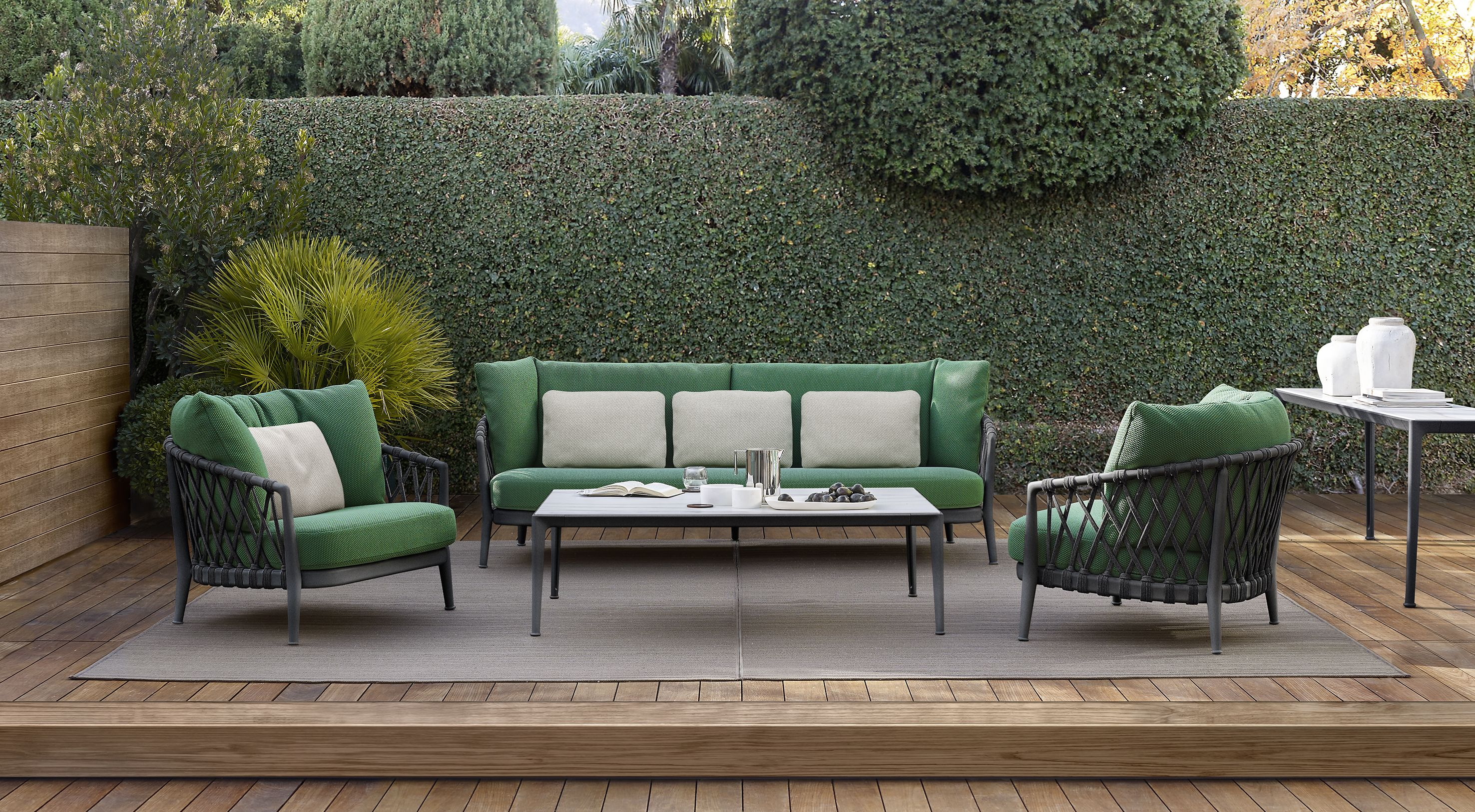 B&B ITALIA Designed by Doshi Levien Bay armchairs are interlaced volumes bined with Contemporary Designers Furniture