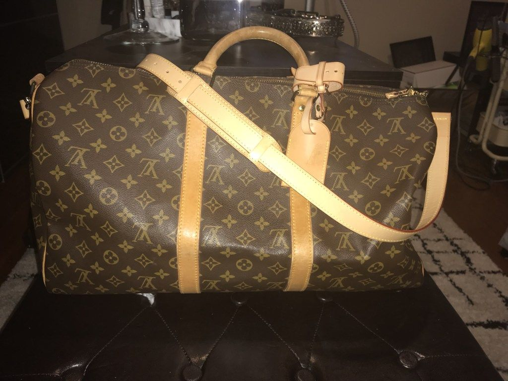 Louis Vuitton Keepall Bandouliere 50 Vintage  6672c522e0327