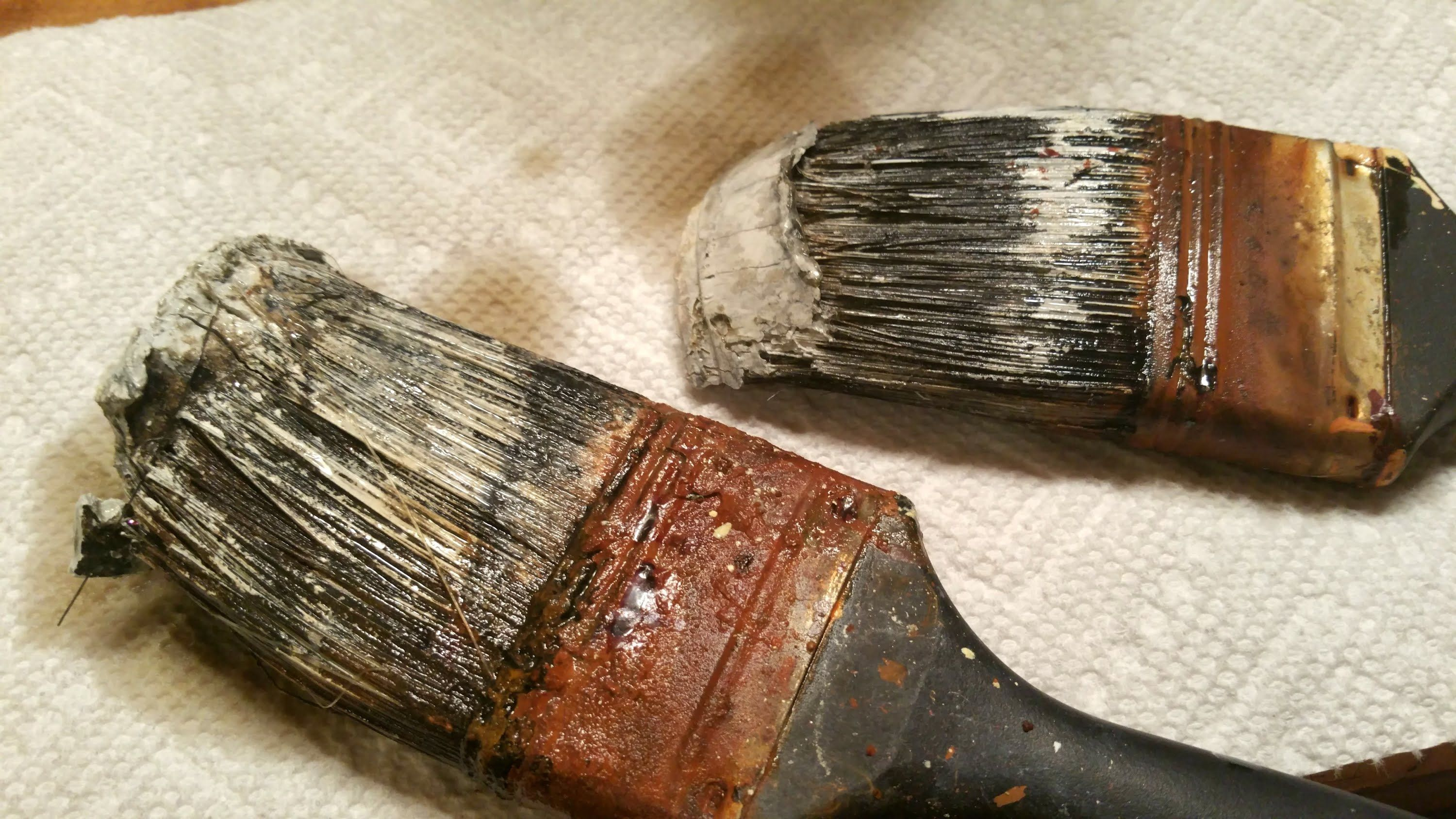 How to clean hardened paint brushes dry brush painting
