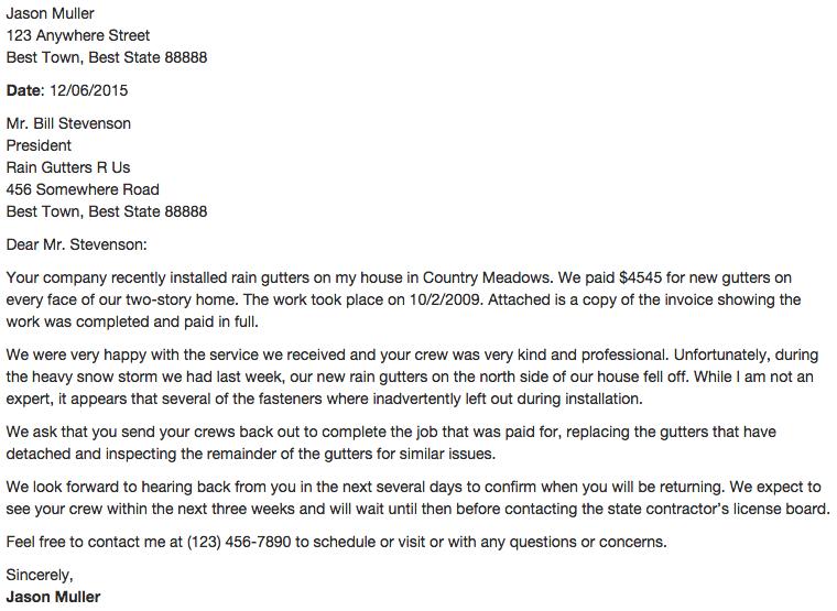 Complaint Letter Format Amp Sample Template Health Insurance Claim