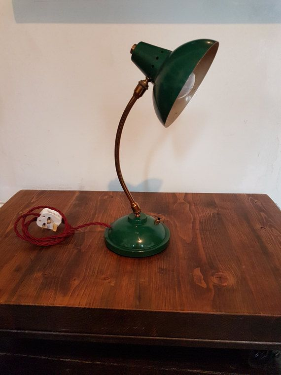 Green mid century desk lamp rewired lampy pinterest mid green mid century desk lamp rewired keyboard keysfo Gallery