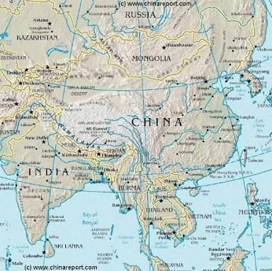 Map Of Asia Mountains.Map Of Rivers In Asia Google Search Cartograpy Asia Map Asia