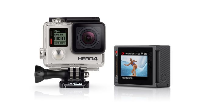 Hero4 Silver Pro Quality Capture Touch Display Convenience Features 1080p60 And 720p120 Video 12mp Photos Up To 30 Frames Pe Gopro Am Telefon Unterwerfung