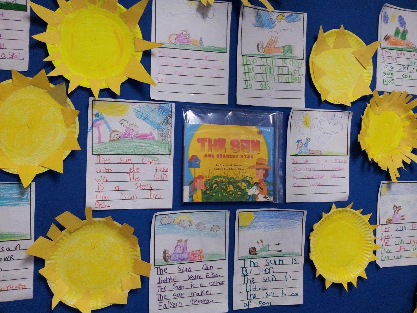 Chalk Talk Kindergarten Sun And Stars
