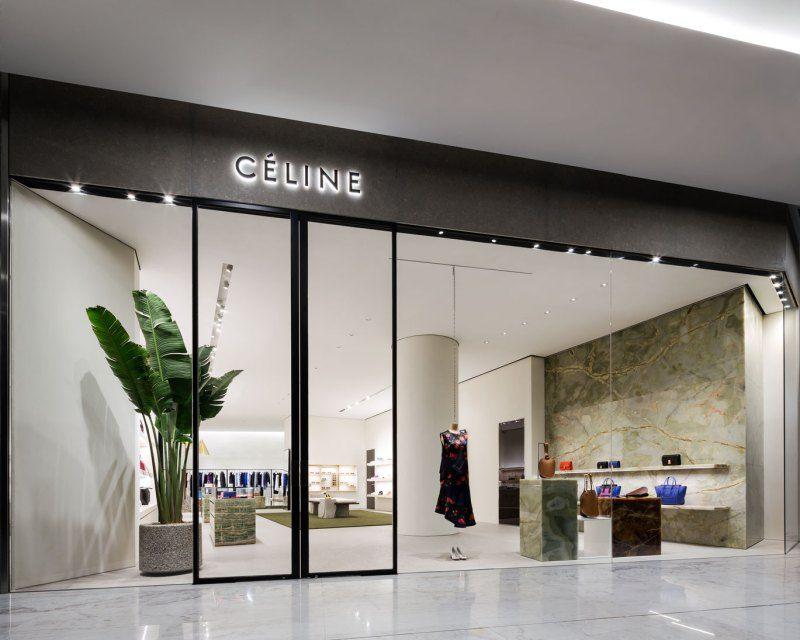 celine store at emquartier by pp group retail facade pinterest magasin boutique et. Black Bedroom Furniture Sets. Home Design Ideas