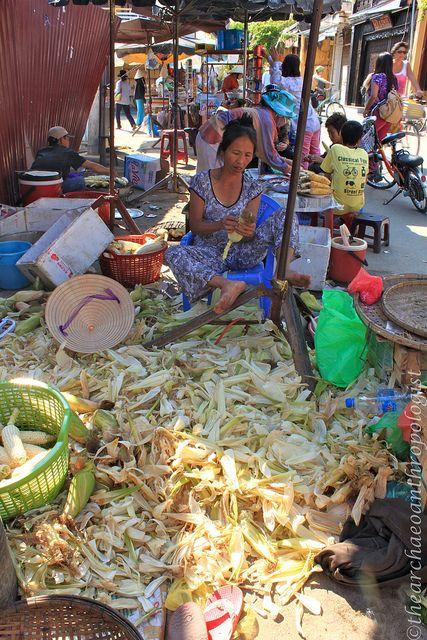 market, Hoi An, Quang Nam, Vietnam.  Photo:  thearchaeoanthropologist, via Flickr