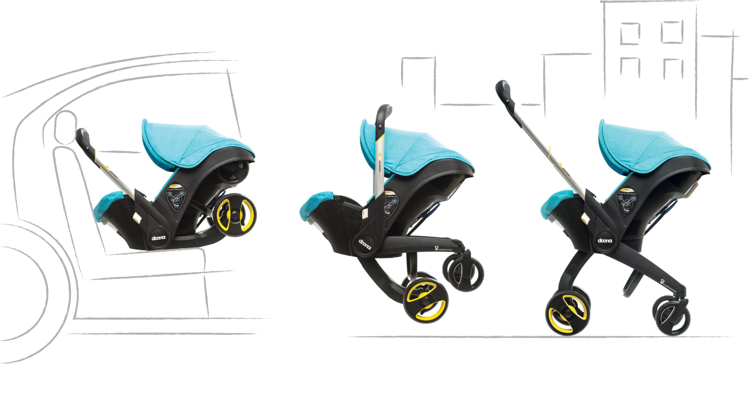 weeSpring giveaway Doona car seat and stroller in one