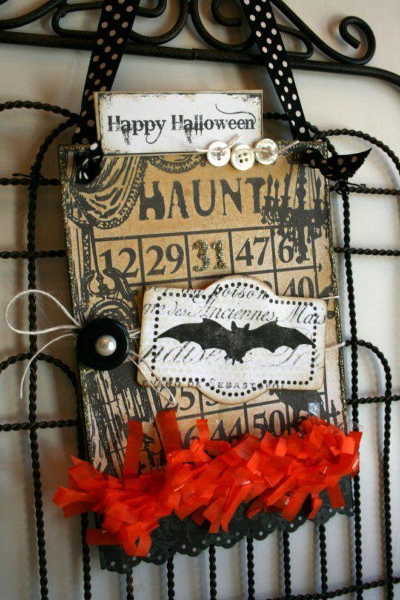 tag halloween decor