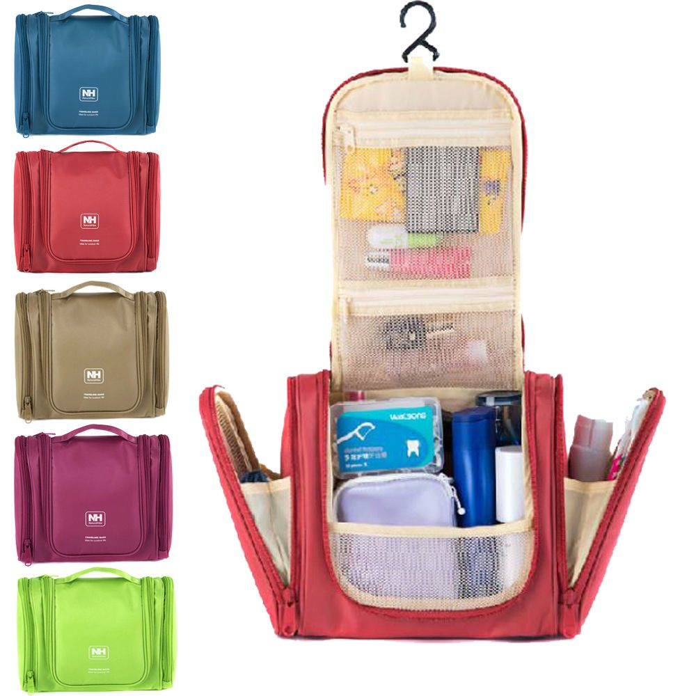 Hanging Travel Makeup Case Toiletry Cosmetic Wash Bag