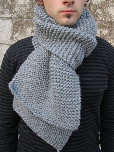 Free Knitting Pattern Scarves Autumn Simplicity Scarf Knitting