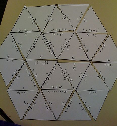 Middle School Math Madness!: Tarsia Puzzle Maker