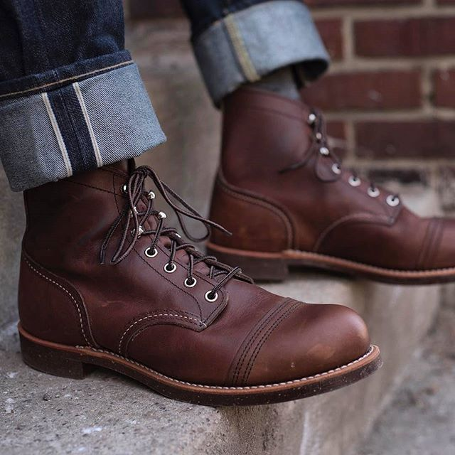 b4292f744f0 Red Wing 8111 Iron Ranger Amber Harness | My foot in 2019 | Red wing ...