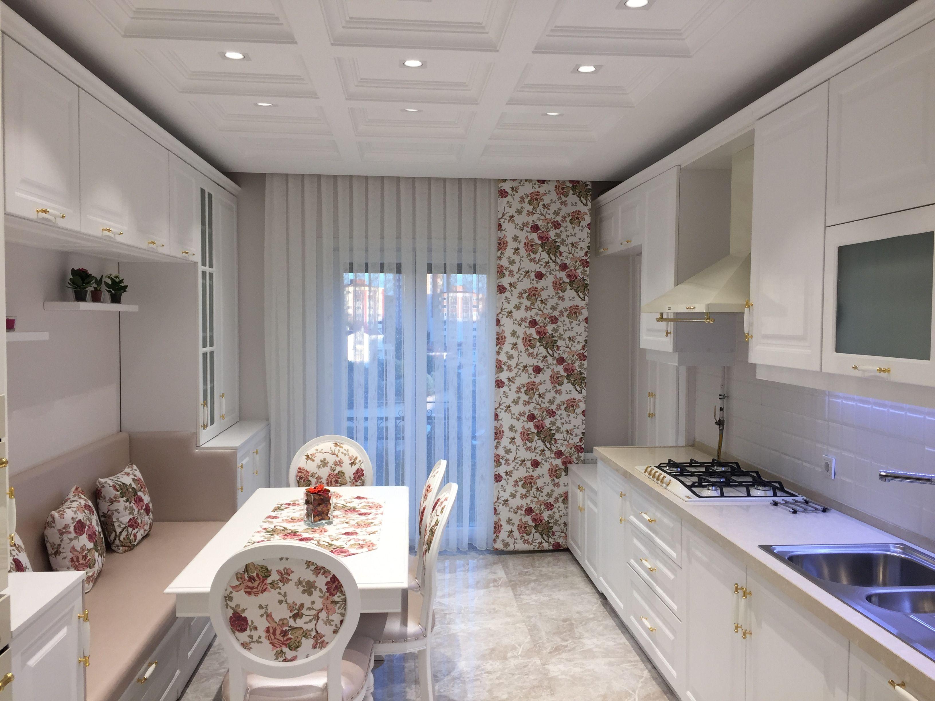 Modern beyaz mutfak dolab dizayni en son dekorasyon modelleri -  Country Mutfak Mutfak Tasar M Beyaz Mutfak K Klasik Mutfak