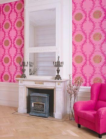 Pink wallpaper | Wallpaper | Pinterest | Wallpaper, Oriental and Walls