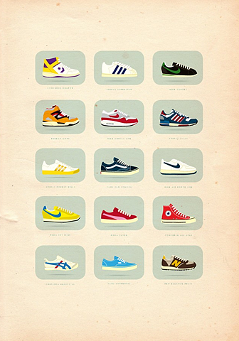 40+ Vintage Posters to Inspire Your Next Designs Color Palette