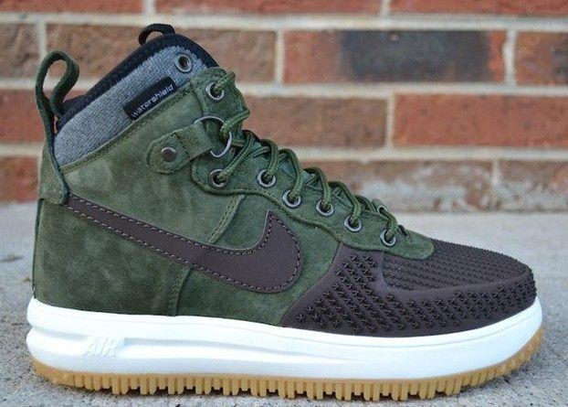 7c15928628541c Nike Lunar Force 1 Duckboot Army Green