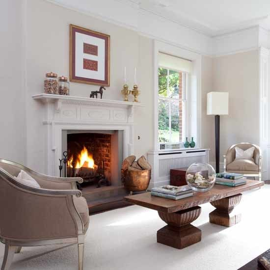 Classic Living Room Fireplace  Formal Living Rooms  10 Of The Inspiration Interior Design Ideas For Living Rooms With Fireplace Design Ideas