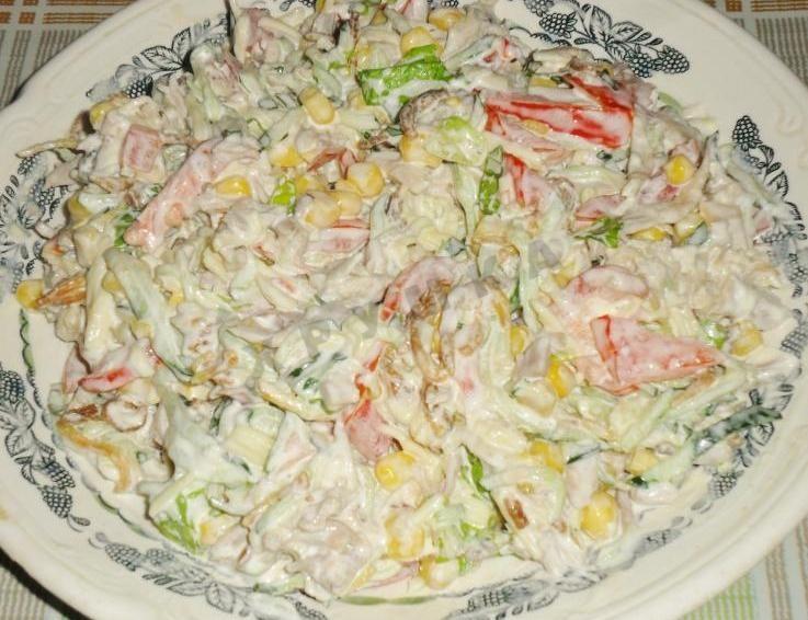 королевский салат рецепт с фото