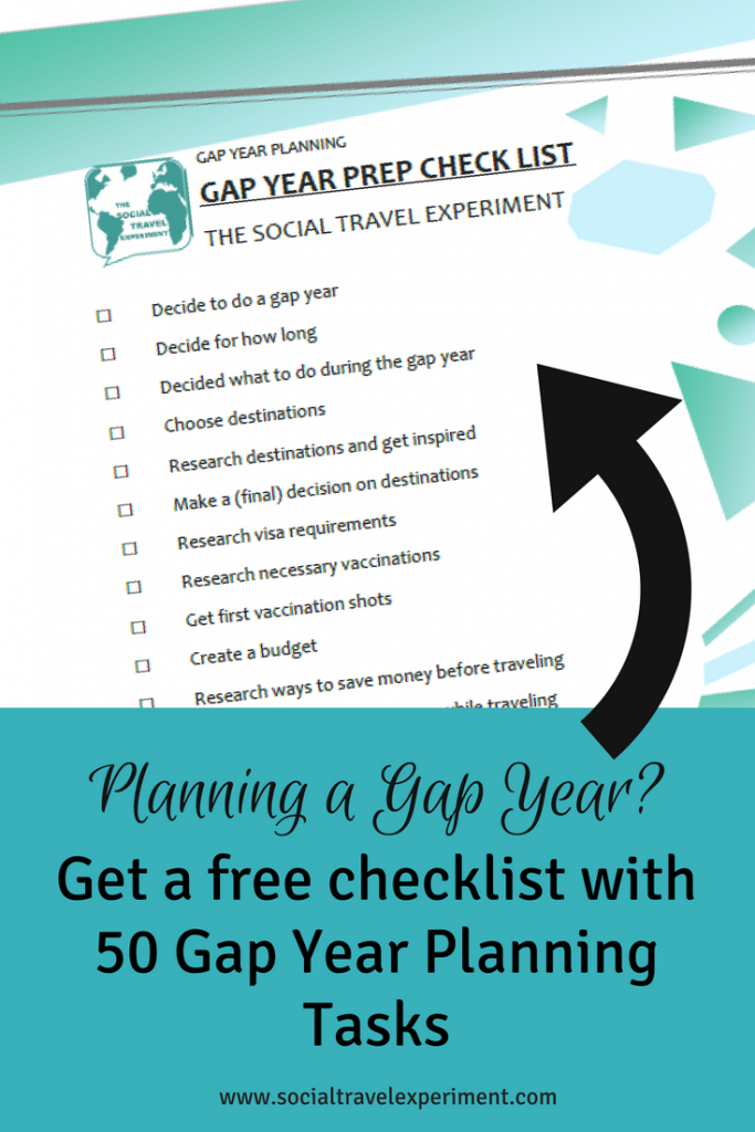 How To Plan A Trip Around The World In 50 Steps Gap Year Travel