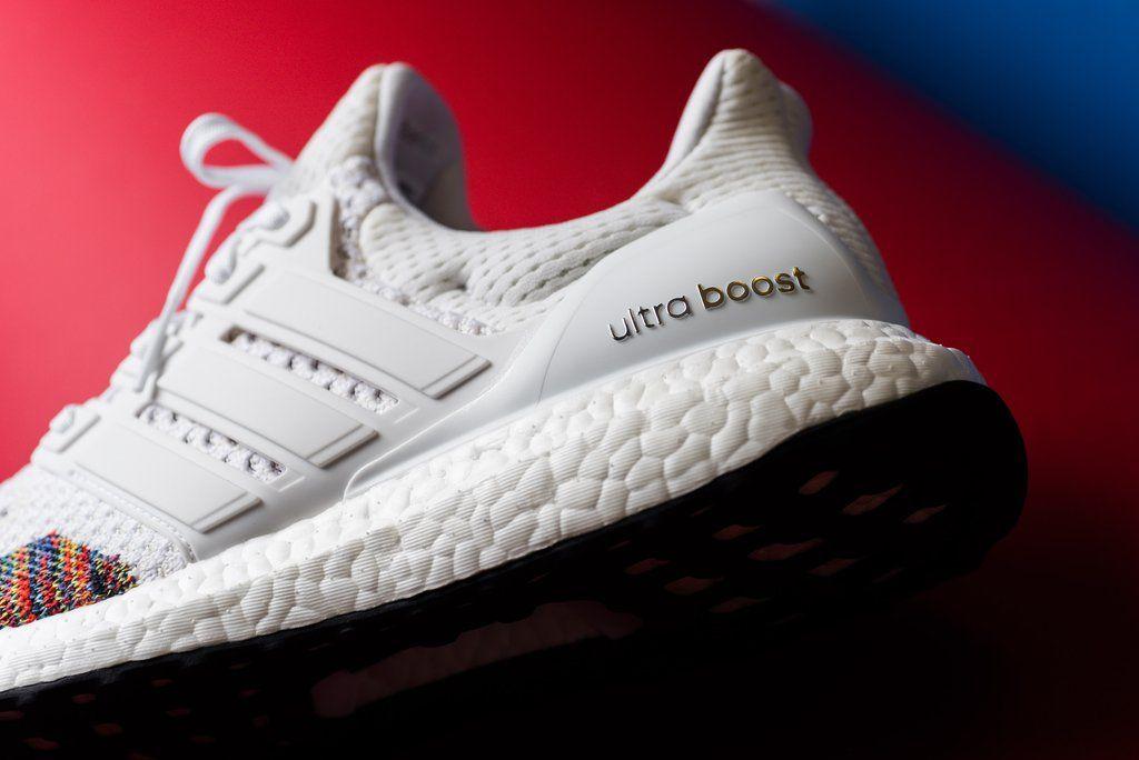 Adidas Ultraboost LTD Cloud WhiteMulti | Shoe Ties