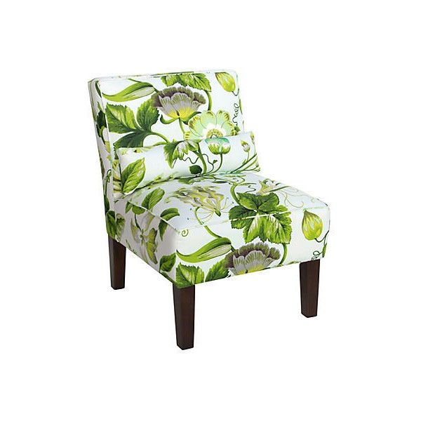 Attirant Bergman Chair Tropical Floral Accent U0026 Occasional Chairs ($385) ❤ Liked On  Polyvore Featuring Home, Furniture, Chairs, Accent Chairs, Chair, ...