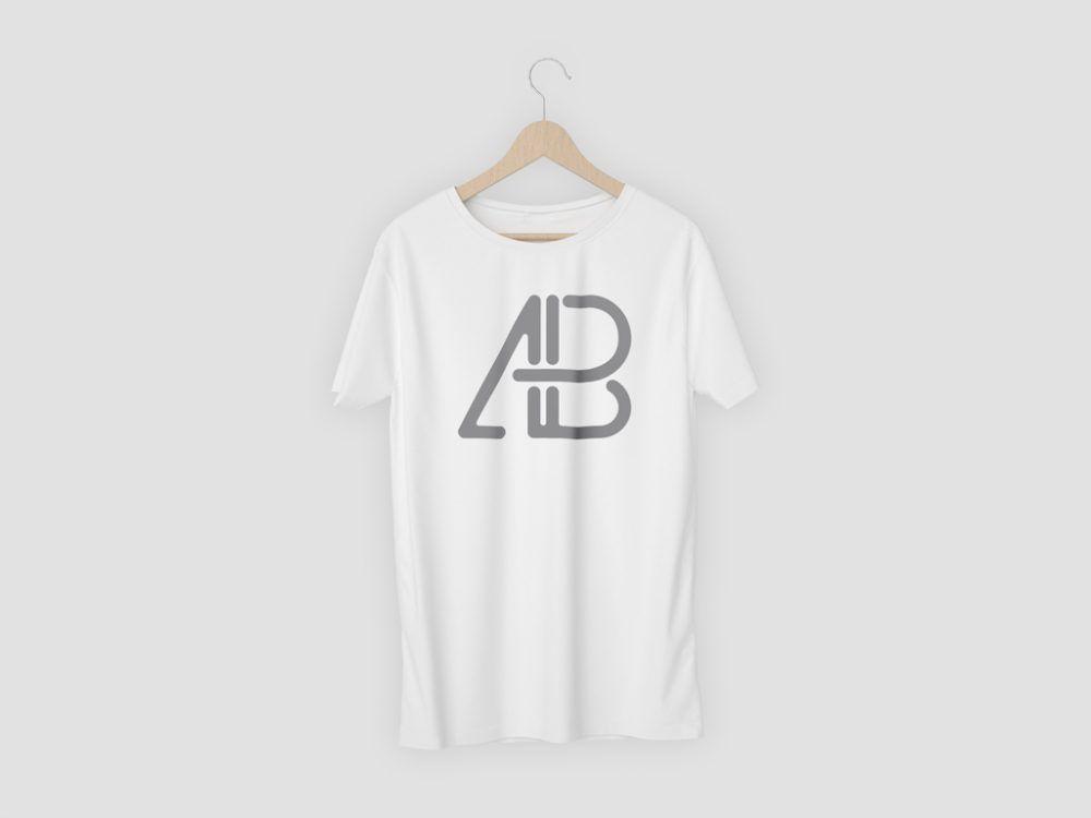 Download Single T Shirt On Hanger Mockup Mockupworld Shirt Mockup Clothing Mockup Tshirt Mockup