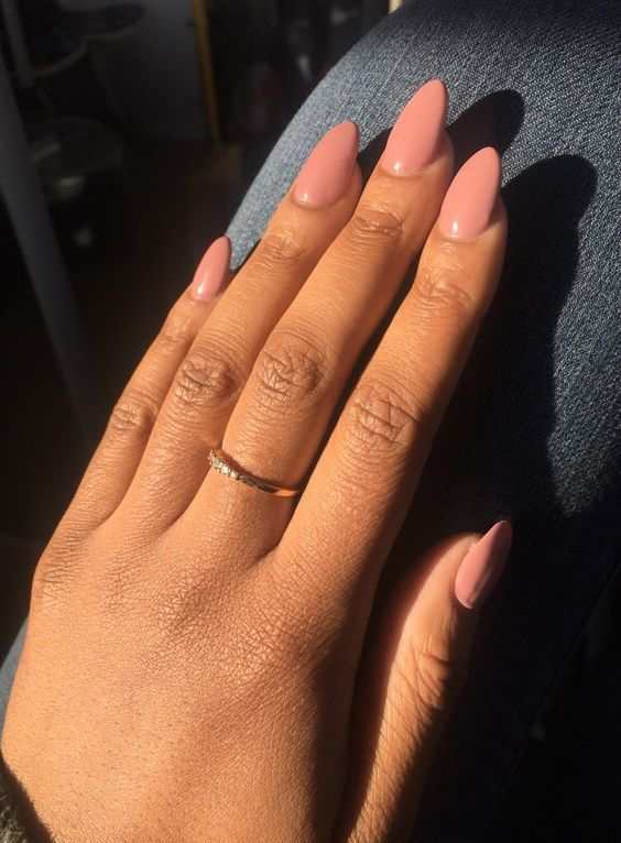 50 Coffin Acrylic Nail Designs For Short Nails Koees Blog Almond Acrylic Nails Designs Popular Nails Almond Acrylic Nails