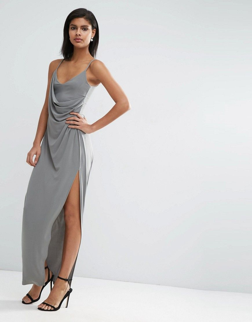 Crepe wrap slip dress for a special occasion | Special Occasion ...